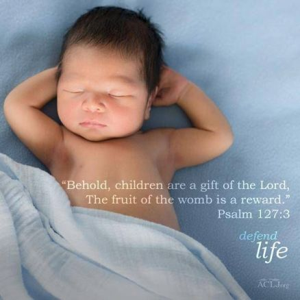 behold children are a gift of the Lord