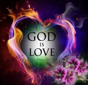 God is love love