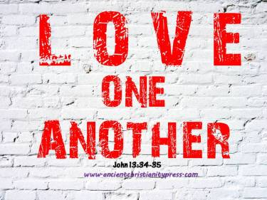 Bible verses on Love One Another, to meditate or simply to study the Bible