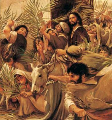 HOSANA EL Rey 29383 King of kings holy week!