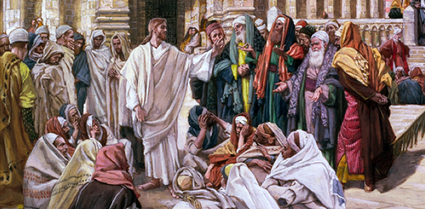 Jesus and scribes and pharisees klkdd