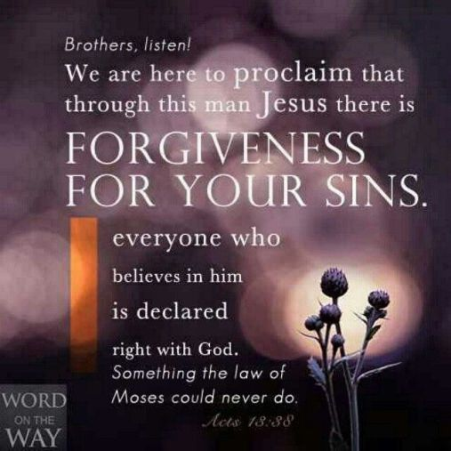 Right with God Forgiveness
