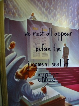 we must appear before the judgment seat Jesus